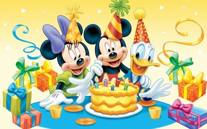 Mickey Mouse Wallpapers birthday 2