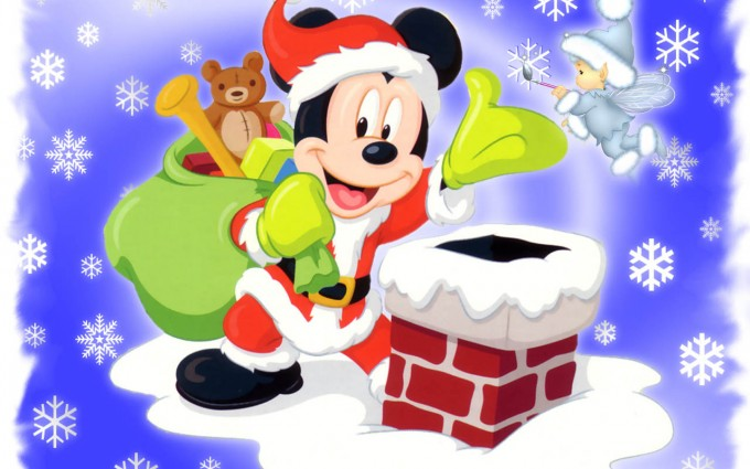 Mickey Mouse Wallpapers christmas
