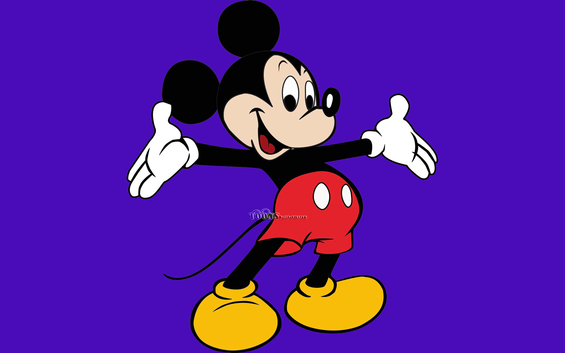 Mickey Mouse Wallpapers happy