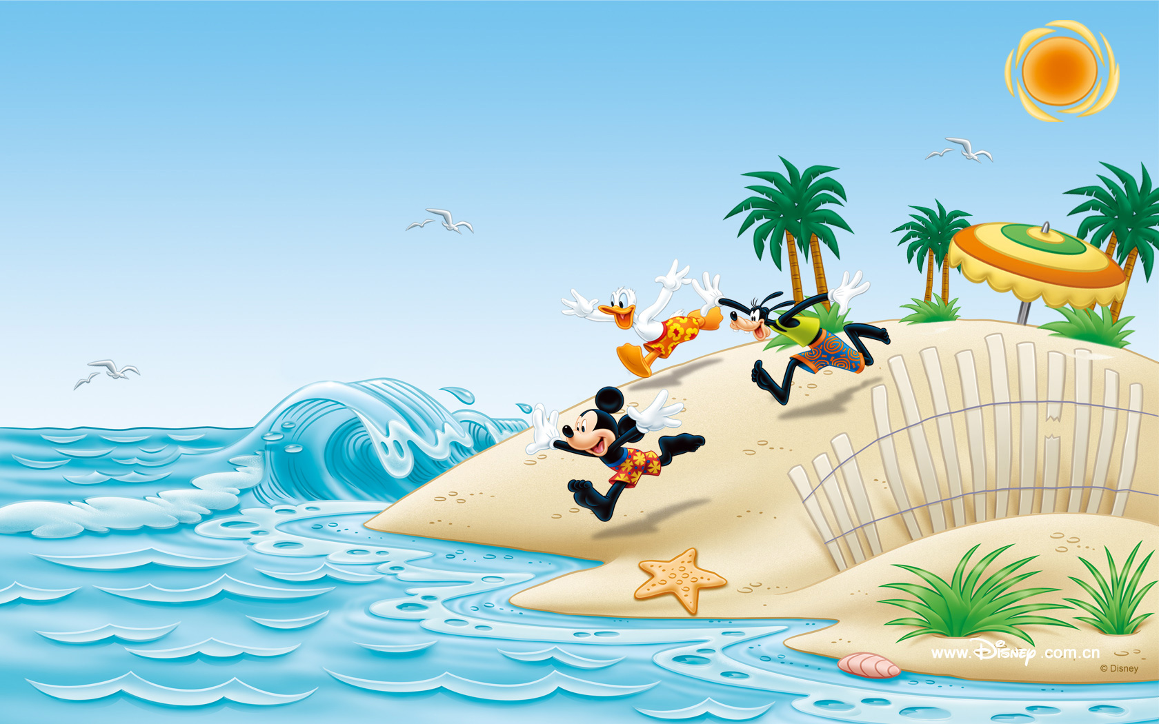 Mickey Mouse Wallpapers island