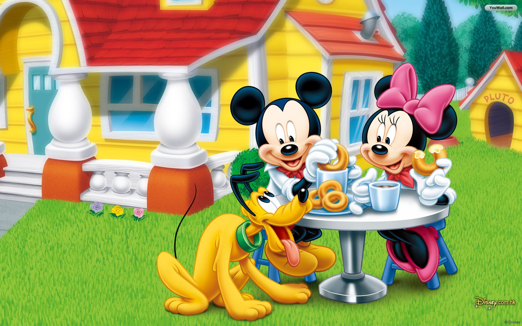 Mickey Mouse Wallpapers picnic