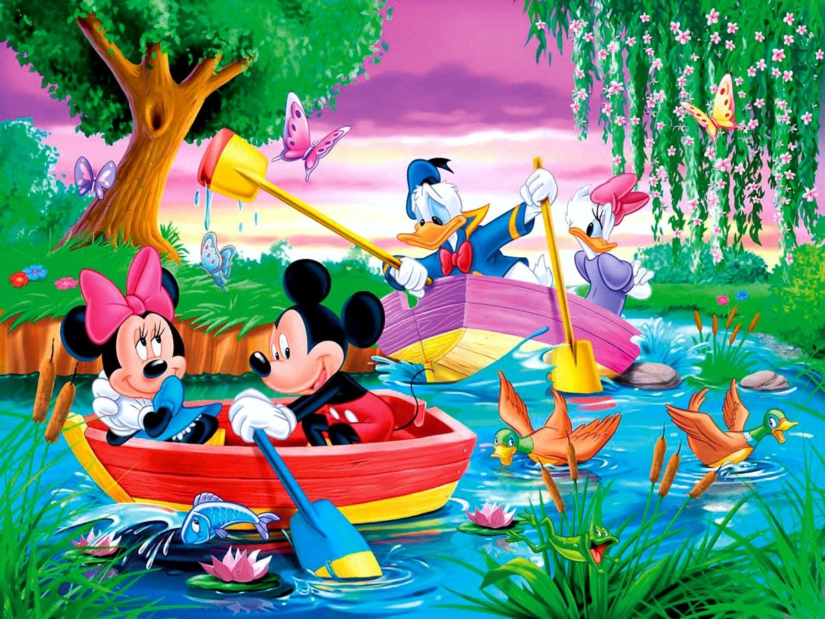 Mickey Mouse Wallpapers river