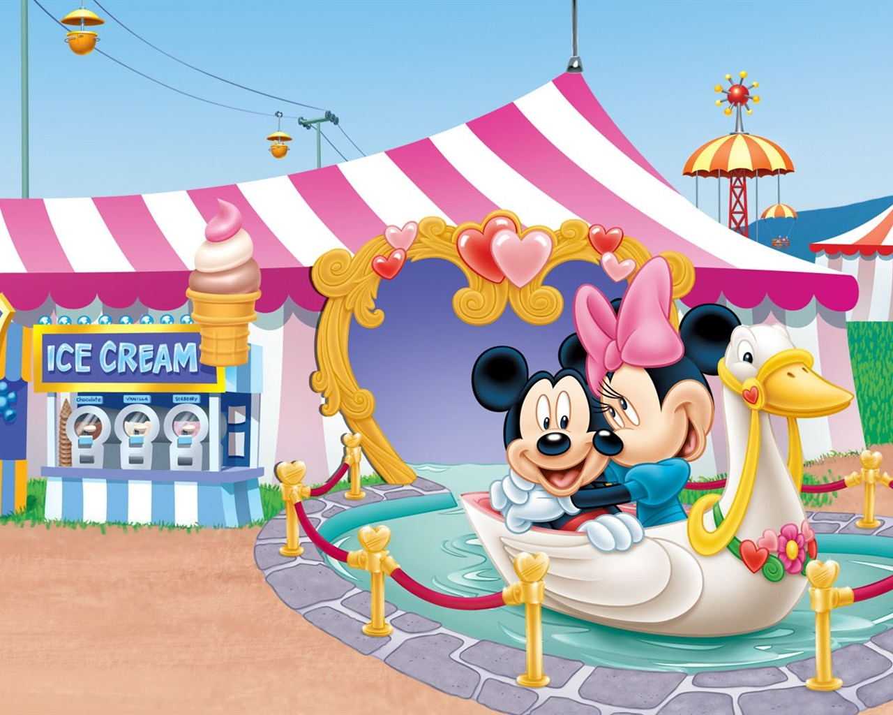 Mickey Mouse Wallpapers theme park