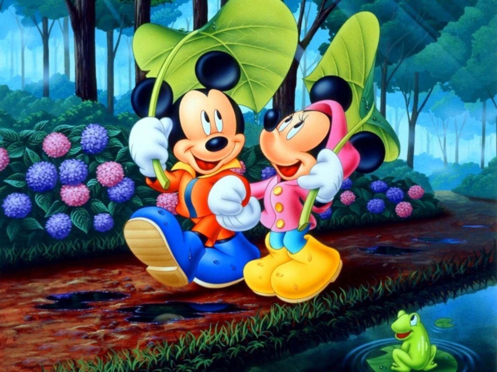 Mickey Mouse Wallpapers walk