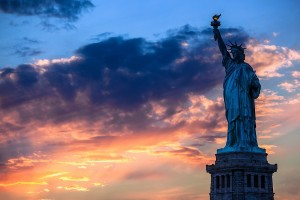 Free New York City Statue of Liberty USA America HD Desktop wallpapers backgrounds wall murals downloads A21