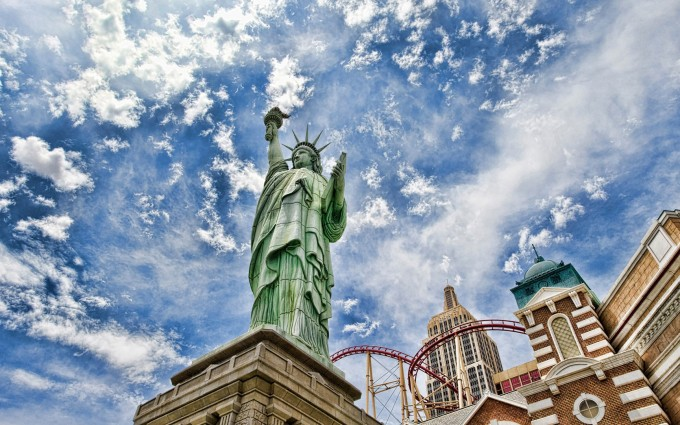 Free New York City Statue of Liberty USA America HD Desktop background wallpapers wall murals downloads A22