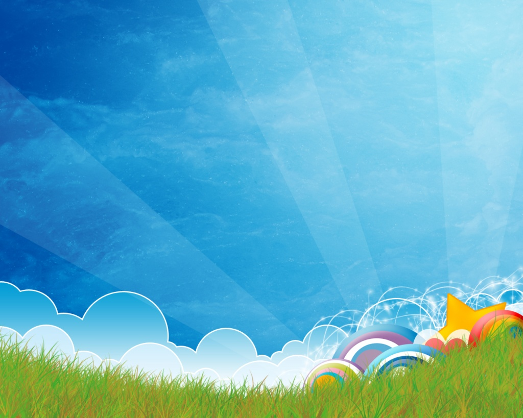 Plain Wallpapers HD blue clouds