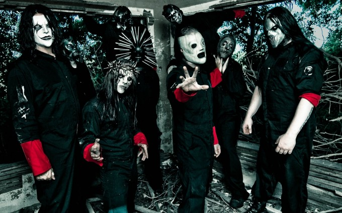 Slipknot Wallpapers HD band in black shirt