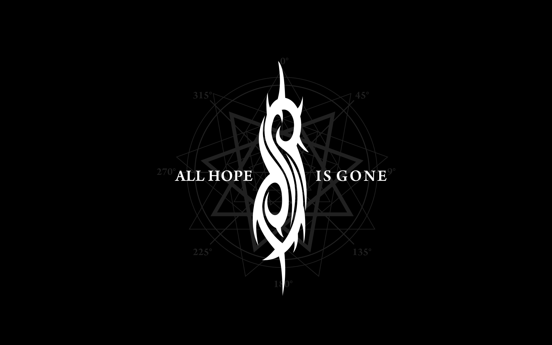 Slipknot Wallpapers HD logo black background