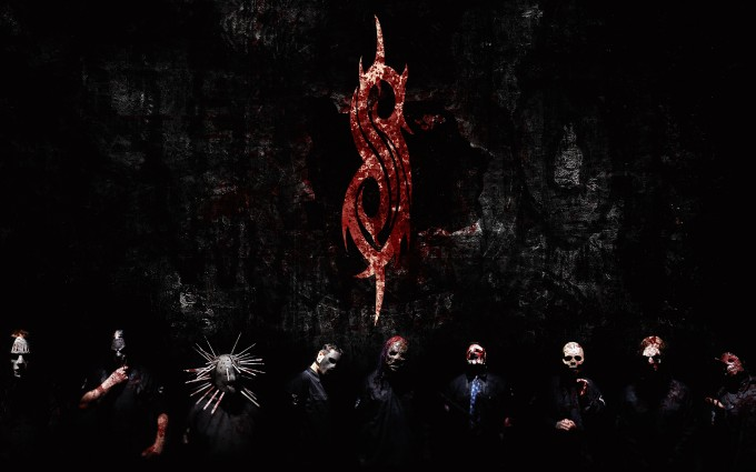 Slipknot Wallpapers HD logo red