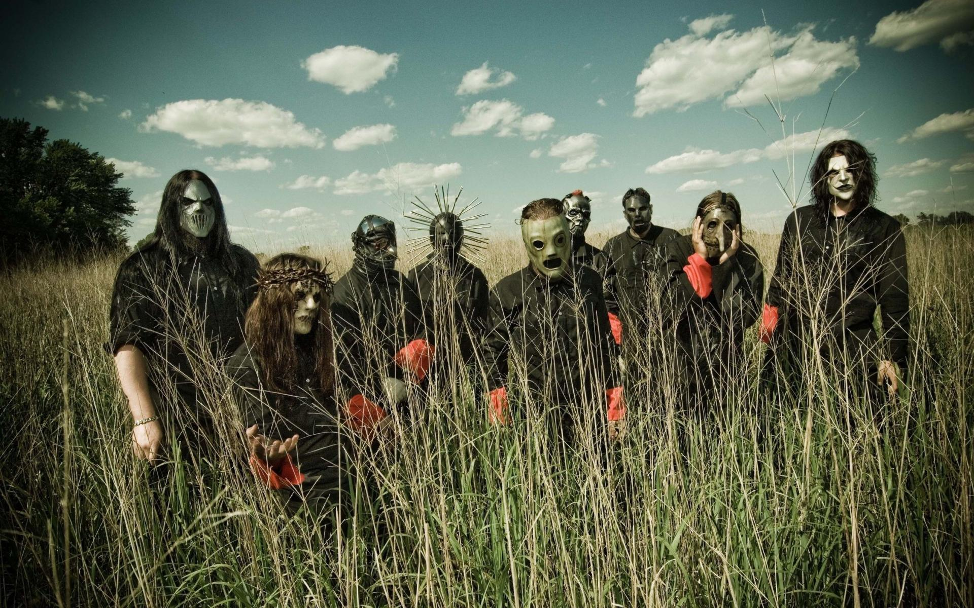 Slipknot Wallpapers HD paddy field