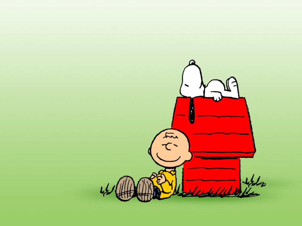 Snoopy Wallpapers HD green background