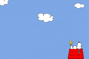 Snoopy Wallpapers HD clouds