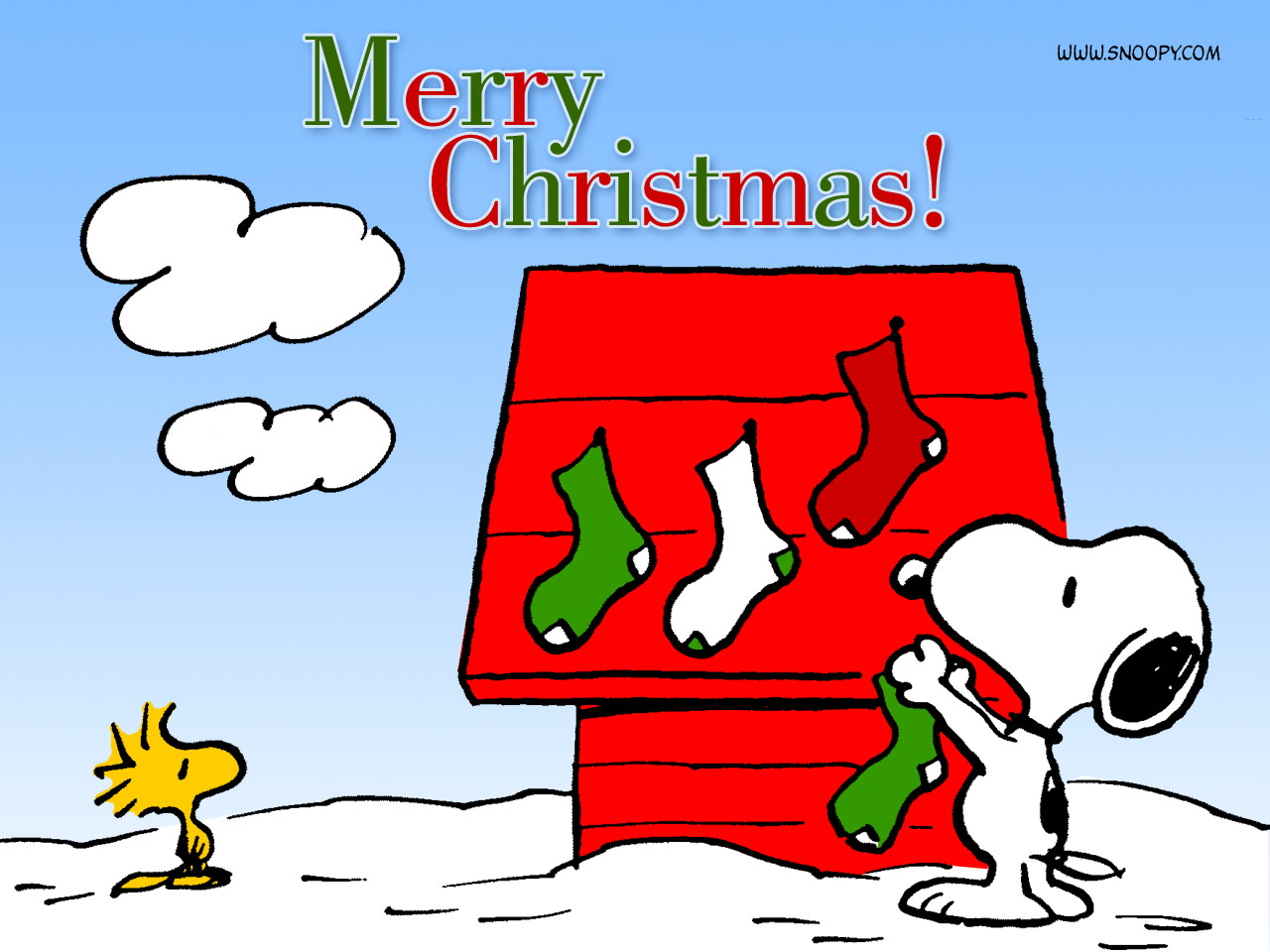 Snoopy Wallpapers HD christmas wishes
