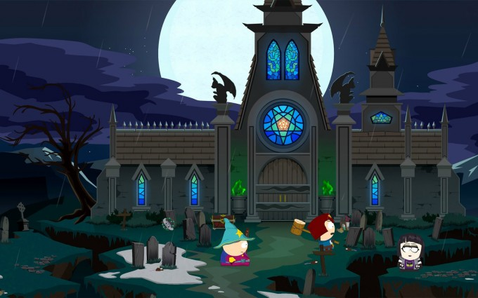 South Park Wallpapers HD haunted mansion