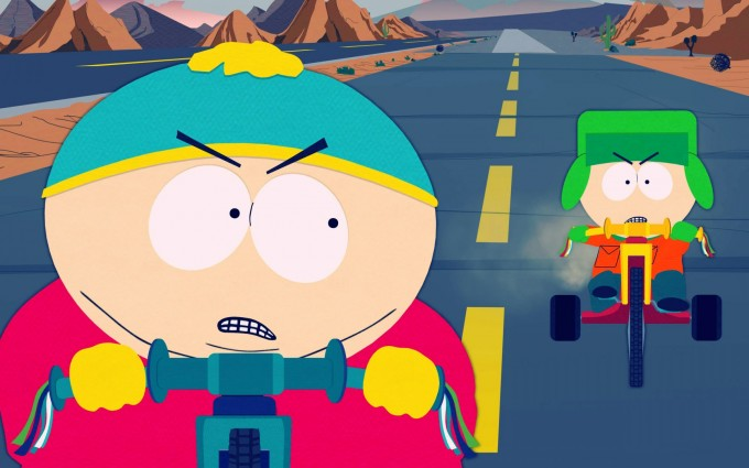 South Park Wallpapers HD cycle race
