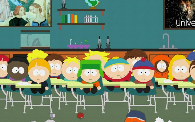 South Park Wallpapers HD classroom