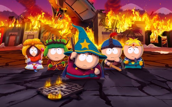 South Park Wallpapers HD fire flames
