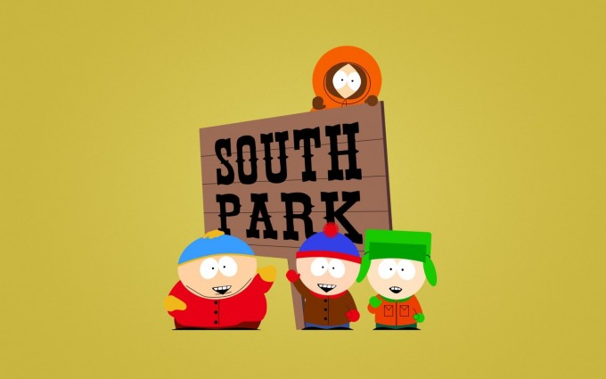 South Park Wallpapers HD yellow background