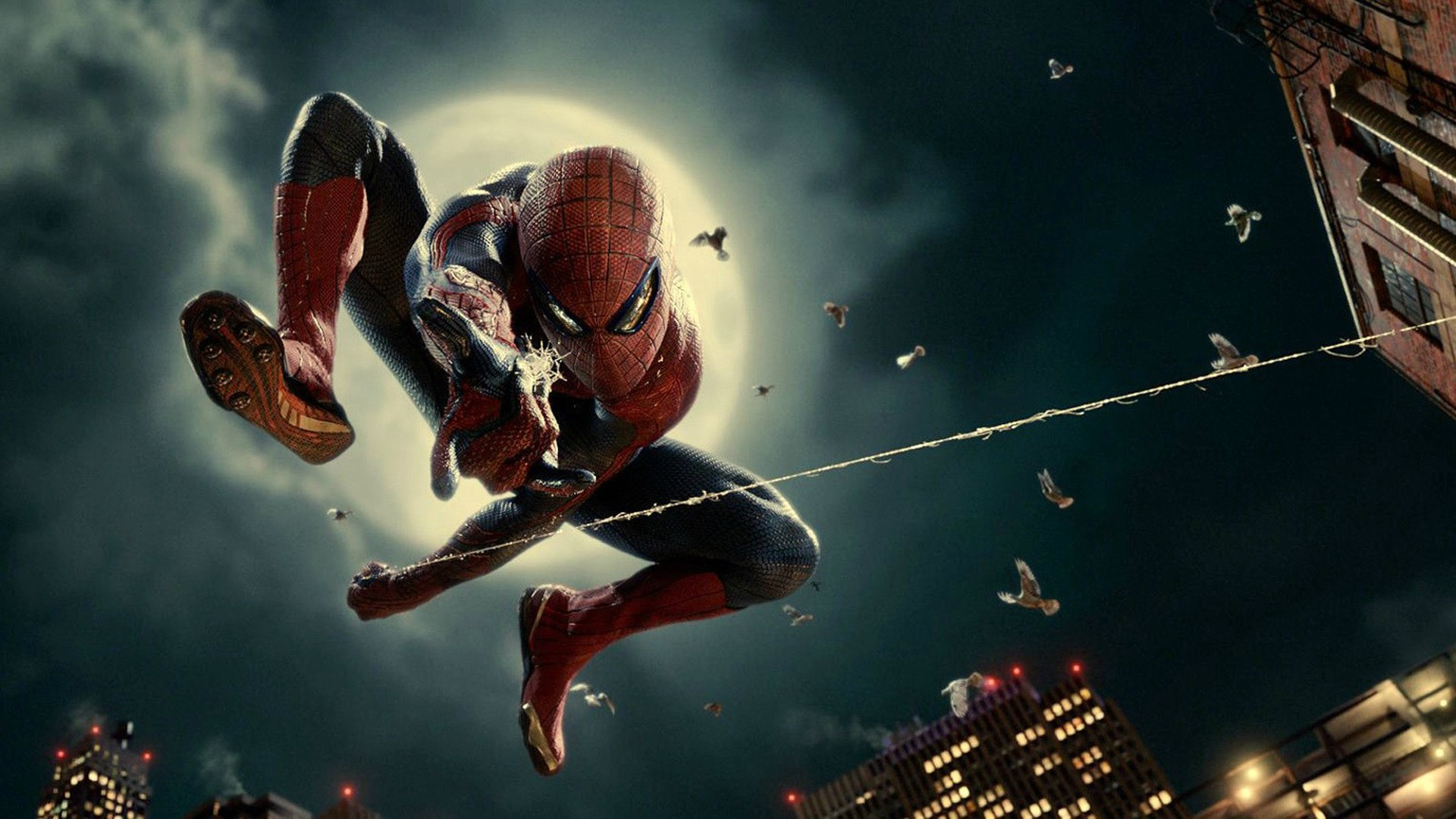 Spiderman pictures, spiderman wallpapers HD A6 Swing - free full high definition 1920 x 1020 marvel Comics Superheroes desktop laptop mobile phone background wallpapers images downloads. Spiderman 1, Spiderman 2, Spiderman 3, Spiderman 4, Spiderman 5.