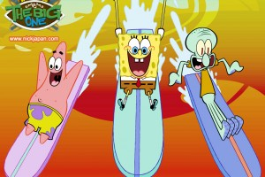SpongeBob SquarePants wallpapers HD surfing
