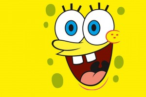 SpongeBob SquarePants wallpapers HD open laugh