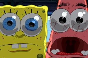 SpongeBob SquarePants wallpapers HD frightened