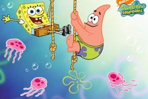 SpongeBob SquarePants wallpapers HD starfish swing