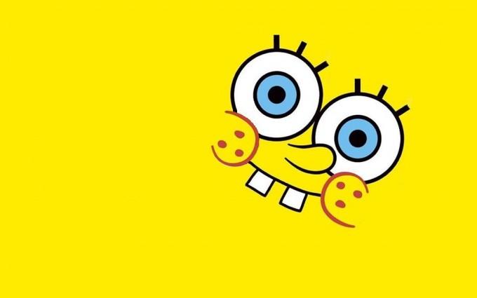 SpongeBob SquarePants wallpapers HD yellow background smile tooth