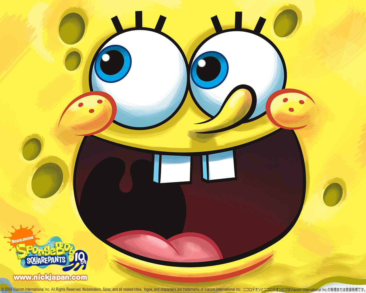 SpongeBob SquarePants wallpapers HD smile