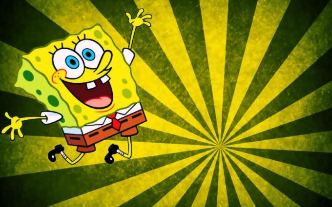 SpongeBob SquarePants wallpapers HD green stripped