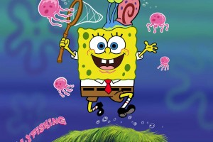SpongeBob SquarePants wallpapers HD pink octopus