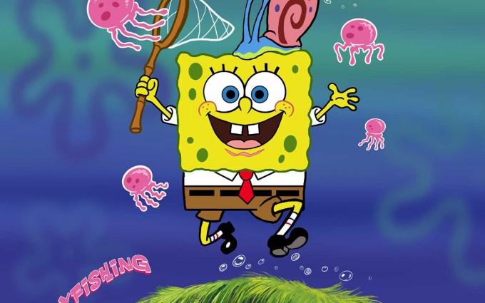 SpongeBob SquarePants wallpapers HD pink octopus