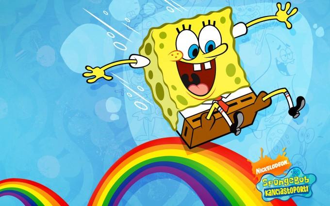 SpongeBob SquarePants wallpapers HD  rainbow