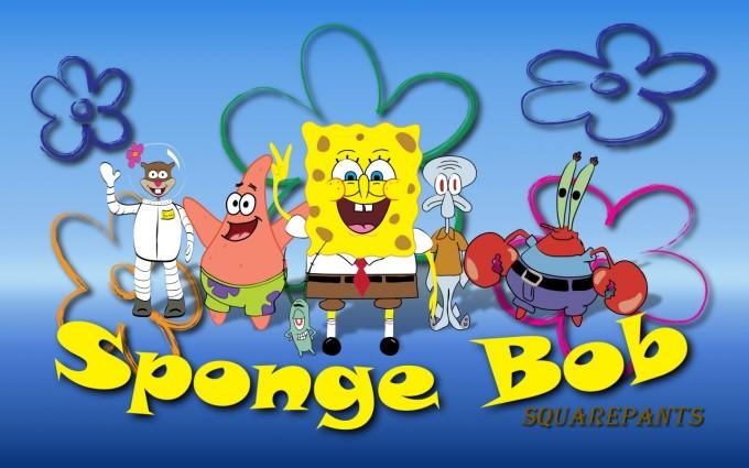 SpongeBob SquarePants wallpapers HD team mates