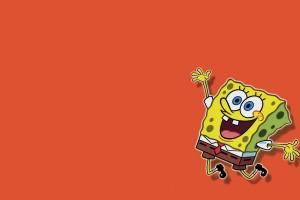 SpongeBob SquarePants wallpapers HD orange background