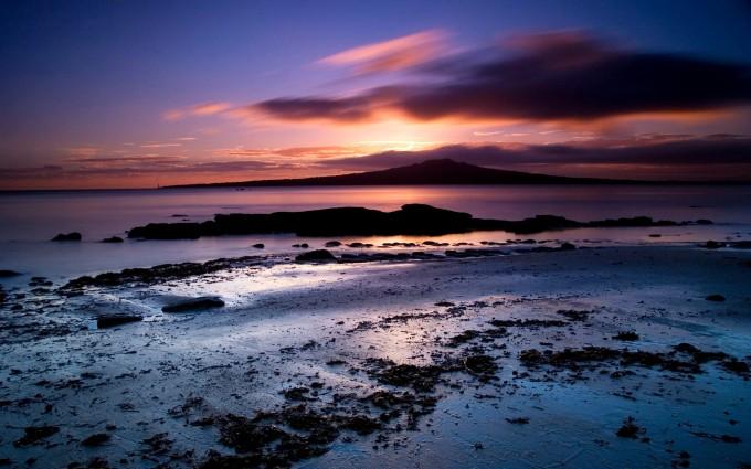 Sunset Wallpapers HD sea shore