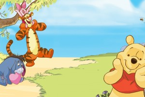 Winnie The Pooh Wallpapers HD beach