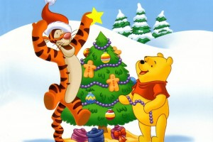 Winnie The Pooh Wallpapers HD christmas tree
