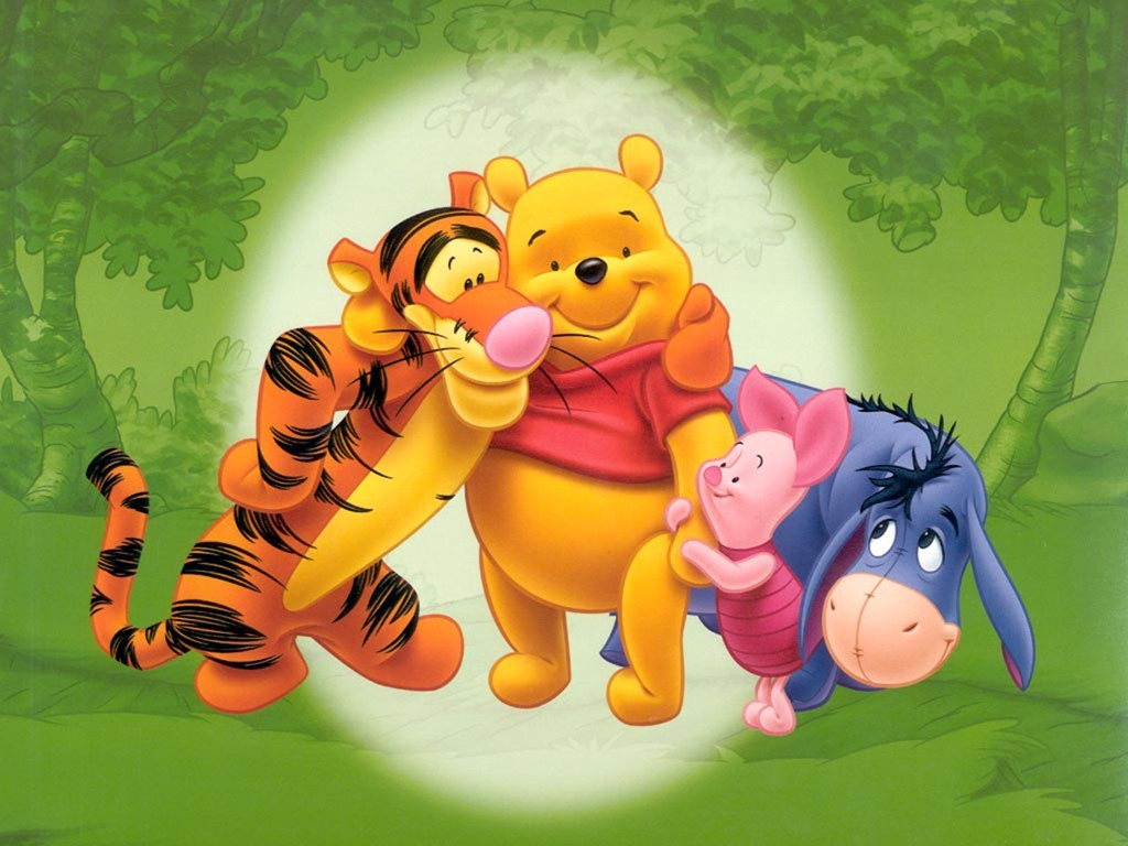 Winnie The Pooh Wallpapers HD green background