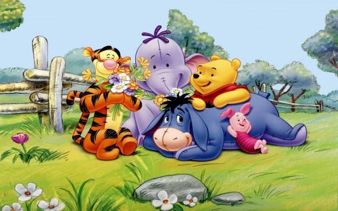 Winnie The Pooh Wallpapers HD gang