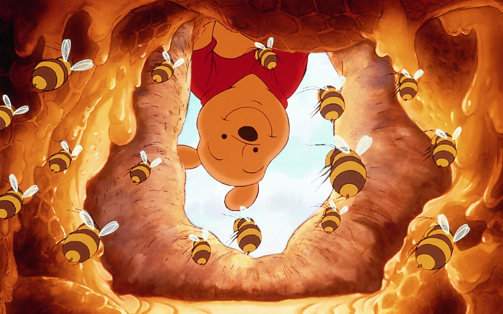 Winnie The Pooh Wallpapers HD beehive