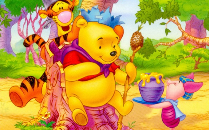 Winnie The Pooh Wallpapers HD tiger