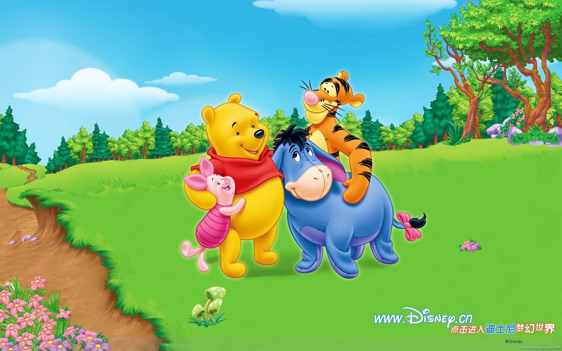 Winnie The Pooh Wallpapers HD hugs