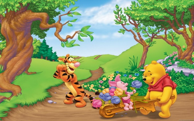 Winnie The Pooh Wallpapers HD forest