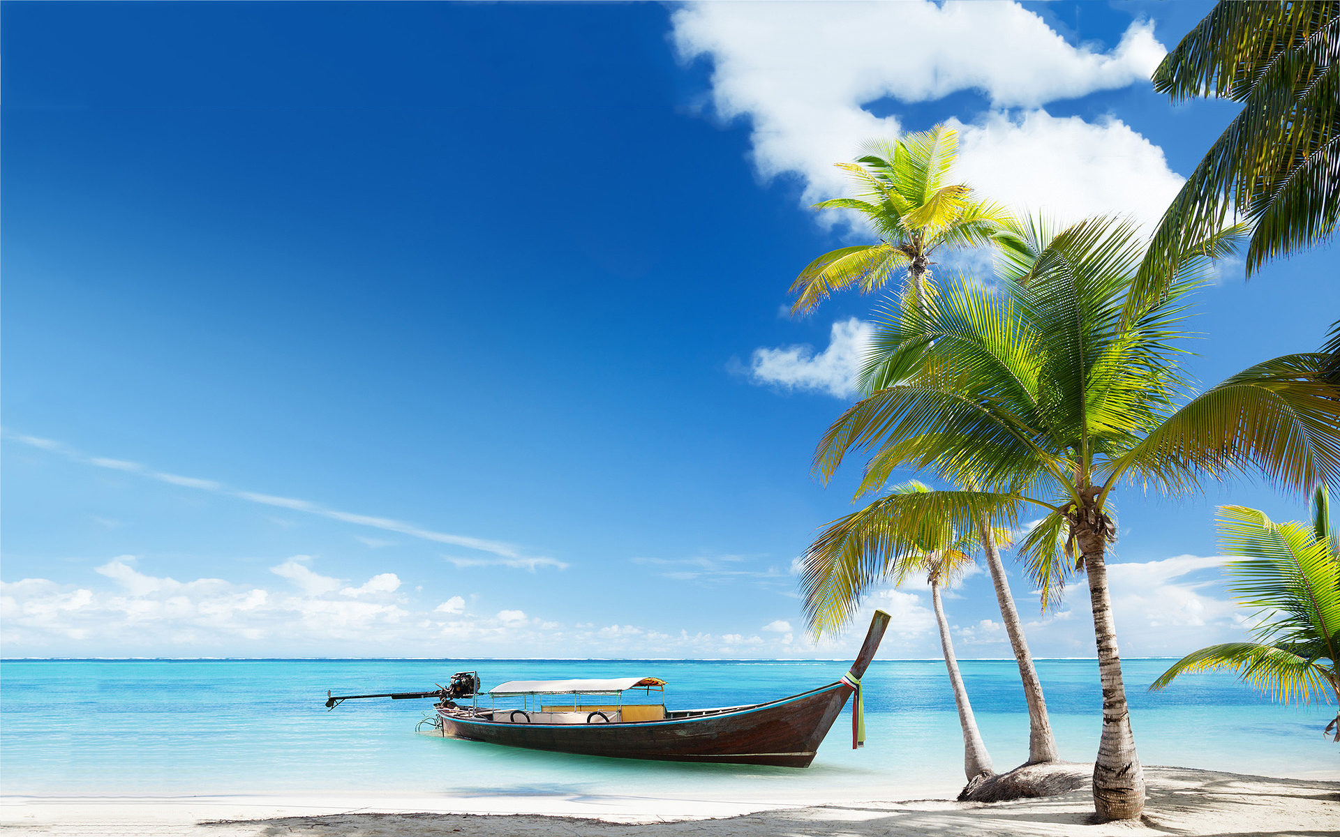 boat Beach Wallpapers