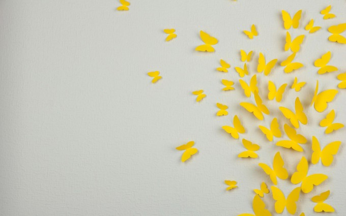butterfly images free yellow