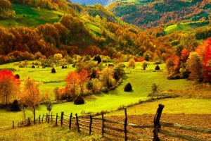 fall wallpapers farm Autumn