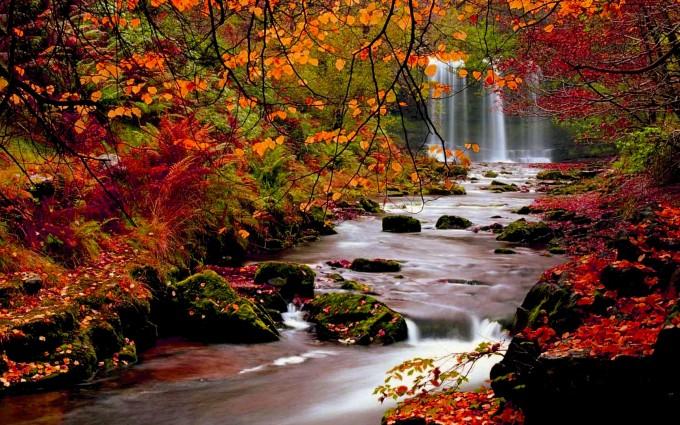 fall wallpapers waterfalls Autumn