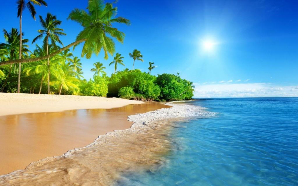 free beach wallpaper